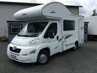 2010 (59) PEUGEOT BOXTER 333 ELDDIS AUTOQUEST MOTOR HOME, ONLY 18000 MILES FROM NEW, JUST BEEN MOT'D
