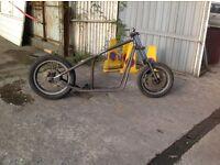 Hardtailframe Chopper bobber project
