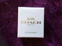 Coach women eau de toilette 30ml unopened in box