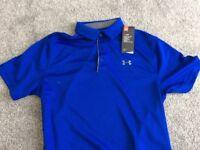 Brand New Under Armour Golf Shirt
