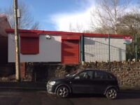 Commercial Unit Close to Merthyr Town Centre. 3 Offices and Two Storage Areas