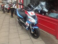 PIAGGIO NRG 50cc LIQUID COOLD JUST SERVICED INCLUDING CARB SET UP NIPPY LITLE SCOOTER
