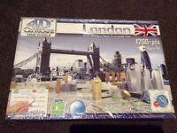 London 4D time puzzle for sale