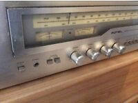 Vintage 70s Rotel Stereo Receiver / Amplifier