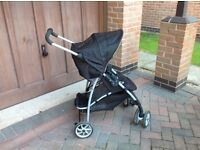Graco pushchair with rain hood £20 bargain can deliver if local call 07812980350