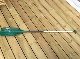 Canoe paddle used