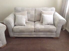 Stokers Hampshire Large 2 Seater Sofa, Chair & Footstool