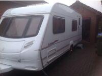 Ace Jubilee 6 Berth Caravan & Two Awnings