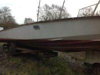 Project Tremlett boat