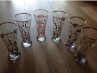 Job Lot: Highly Collectable glasses - vintage retro and Stella Artois