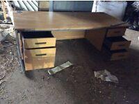 Large office desk used (marks tey essex) can deliver