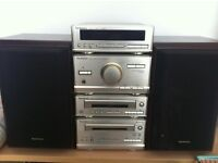 Hi-Fi Stereo System, CD and Cassette Player-Almost New Condition.