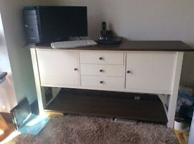 Country Cream sideboard in new condition