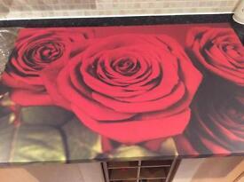 Beautiful Large Rose Canvas