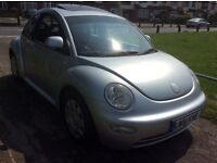 VW BETTLE 1,6 AUTOMATIC 2002 SILVER SILVER