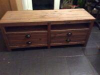 Next Wooden TV stand