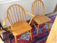 Ercol 6x dining chairs, offer accepted