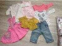 Next 3-6 Month Girls Clothes Bundle