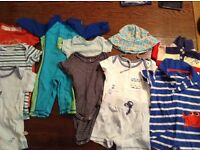 Bundle - boy 3-6 months summer clothes