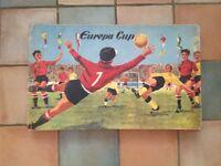 Tinplate football game by Marke Tecnofix
