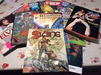 2000AD Judge Dredd etc Comics /Annuals 100s of em sell as Job Lot