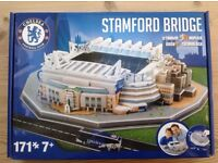 Stamford Bridge Stadium 3D replica model kit.