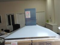 100cm stainless steel cooker hood. £60 RRP £169. New/graded 12 month Gtee