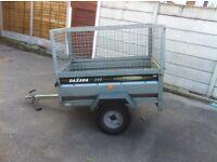 Galvanised steel trailer ideal for gardening etc