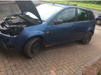 Ford Fiesta. Style 1.4 spares or repair 2005