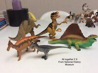 Book, DVD, Schleich horse knight, dinosaurs, puzzle