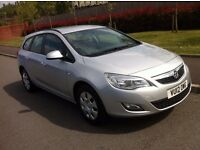 Vauxhall Astra 1.7 CDTi 16v Exclusive,DIESEL,£30 Year TAX,Full Vauxhall Service History,1 Owner,2012