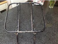 Motorcycle rear carrier