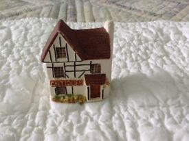 A Collection of Philip Launceston Model Village Houses and Shops Etc