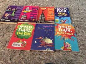 7 x rohal dahl books