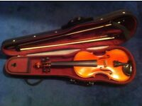 4/4 Gewa mittenwald adorf. 98 violin with case and 2 bows