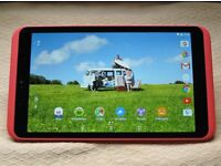 """Tesco Hudl 2 Tablet 8.3"""" Full HD screen, 16GB, WiFi, Android 5.1 -- Rocket Red"""