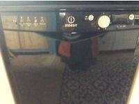 Sold***Freestanding Dishwasher Indesit Black