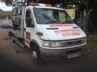 BOURNEMOUTH RECOVERY SERVICE : BASED BOURNEMOUTH ,DORSET