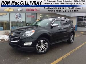 2016 Chevrolet Equinox LTZ..Leather..Camera..$233 B/W Tax Inc..G