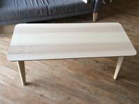 Large light wood coffee table - FAST SALE