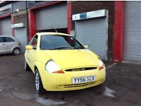 Low mileage Ford Ka 1.3 Zetec climate full year mot ideal first time car