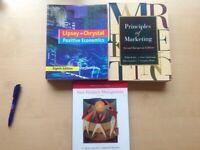 3 Business reference books, Marketing, Economics, product management