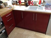 Free Kitchen Units and Bamboo Worktop