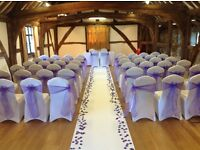 Wedding Chair Cover Hire **£1.50** includes Fitting