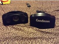 Pair of Goodman's car speakers