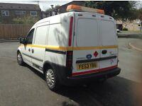 Vauxhall combo van 1.7 full mot. Full tank