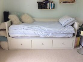 Ikea Hemnes Day Bed and Mattresses