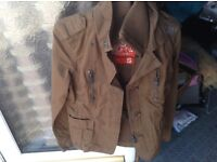 Superdry jacket small military style