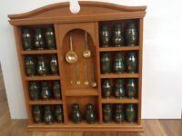 Sprice Rack & Jars