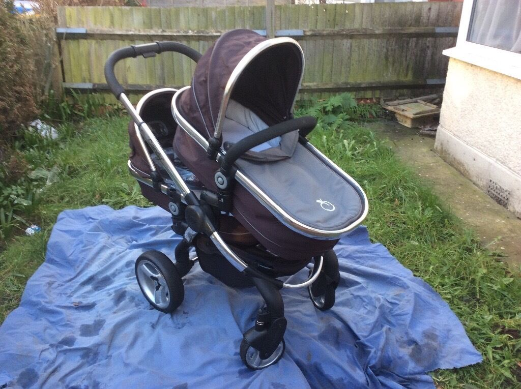 Icandy Peachin Sutton, LondonGumtree - Icandy Pear. Black Jack has both parent facing and forward facing seat options with three reclining positions, can be upgraded from single to a tandem for a second child, all accessories including, plus rain cover